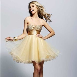 Clarisse Short Formal Dress